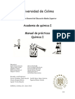 Manual de prácticas Química I
