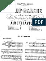 Galop Marche- 8 Mains -A. Lavignac