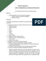 ANÁLISIS ECONÓMICO Y FINANCIERO DE LA UNIDAD DE PRODUCCIÓN