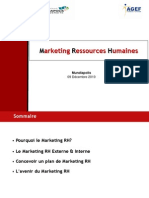 Marketing Ressources Humaines