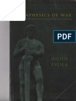 The Metaphysics of War by Julius Evola