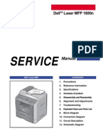 Dell 1600n service manual