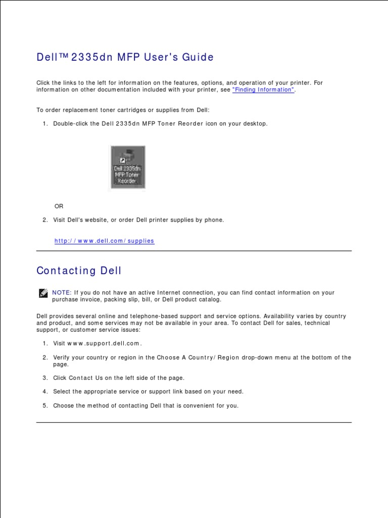 dell 2335dn service manual windows server 2003 microsoft windows rh es scribd com