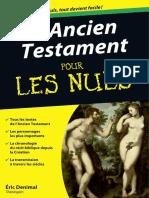 L'Ancien Testament Poche Pour l - Eric Denimal