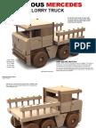 DIY Wood Truck - Caminhão de Madeira