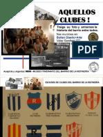 CLUBES DEL BARRIO DE LA REFINERÍA.ROSARIO