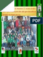 Postal de Nadal 2014 ARMENTEIRA C.F.