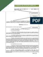 Modelo Básico de Petição Simples