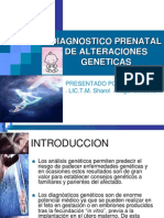14- Diagnostico Prenatal de Alteraciones Geneticas