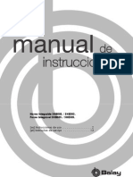 Manual Instruccions Balay 503