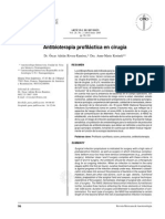 Antibioterapia Profiláctica en Cirugía.