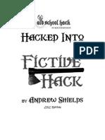 Fictive Hack of Old School Hack