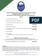 LMU Board Meeting December 4, 2014 Agenda Packet