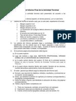 Formato Del Informe Final de La Actividad Terminal