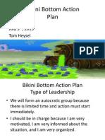 Bikini Bottom Action Plan