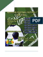 Weekend Football Festival New Jan 25,2015