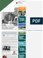 Julián Delgado, el periodista desaparecido y olvidado