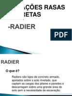 APRESENTAÇÃO RADIER