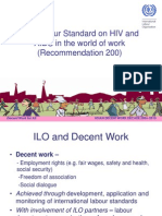 Ilo Policy on Hiv and Aids