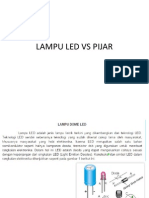Lampu Led vs Pijar