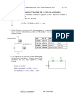 3º ESO Examen de Electricidad Solucionado