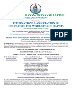 IAEWP 19th World Conference
