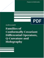 Q Curvature and Differental Opperators