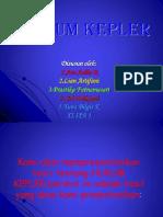 Hukum Kepler