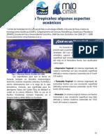 Huracanes aspectos oceanograficos