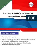 1. Calidad y Gestion de Plantas - Localizacion de Planta