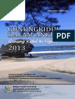 Gunungkidul Dalam Angka 2013