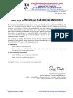 Ftdi Pfos Statement - Ft_000057