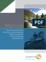 Manual Para La Evaluación de La Demanda, Recursos Hídricos, De Microcéntrales Hidroeléctricas Rural
