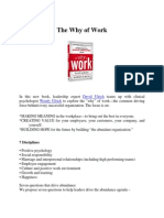 The Why of Work Summary