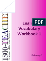 English Vocabulary Workbook Grade 2