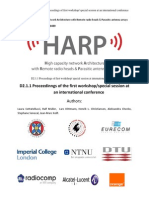 harp d2 1 1 proceedings of first special session