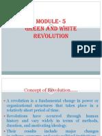 Green & White Revolution