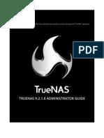 TrueNAS 9.2.1.8 Administrator Guide