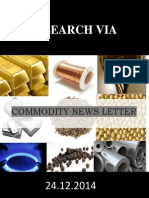 Commodity News Letter