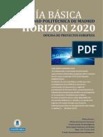 Guia Basica HORIZON 2020 UPM-Oct2013 v1.0