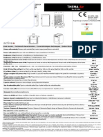 Thema Technical Sheet