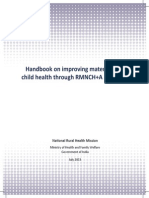 RMNCH+A Gudilines by Government of India