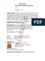 MATH119 Calculus With Analytic Geometry(2014-1)-SYLLABUS-01(1)