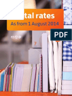Postal Rates August 2014 PostNL