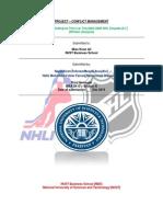 NHL case study - solution