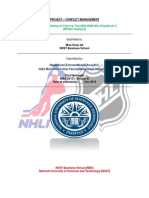 NHL case study - solution