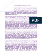 Prokofiev War and Post War