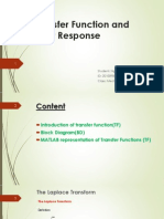Transfer Function and Their Response