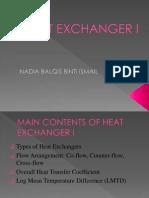 HEAT EXCHANGER I.pptx