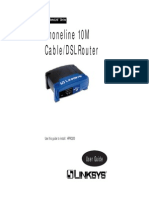 Linksys HPNA-LAN Cable Router